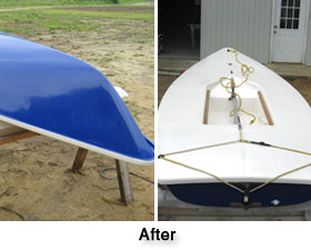 Oceana Boatworks - After Custom Painting