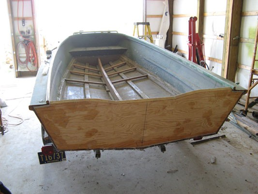 Replaced Transom